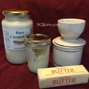 coconut oil and butter 2
