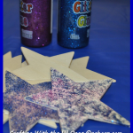 glittered star 2 - crafting w the lil ones