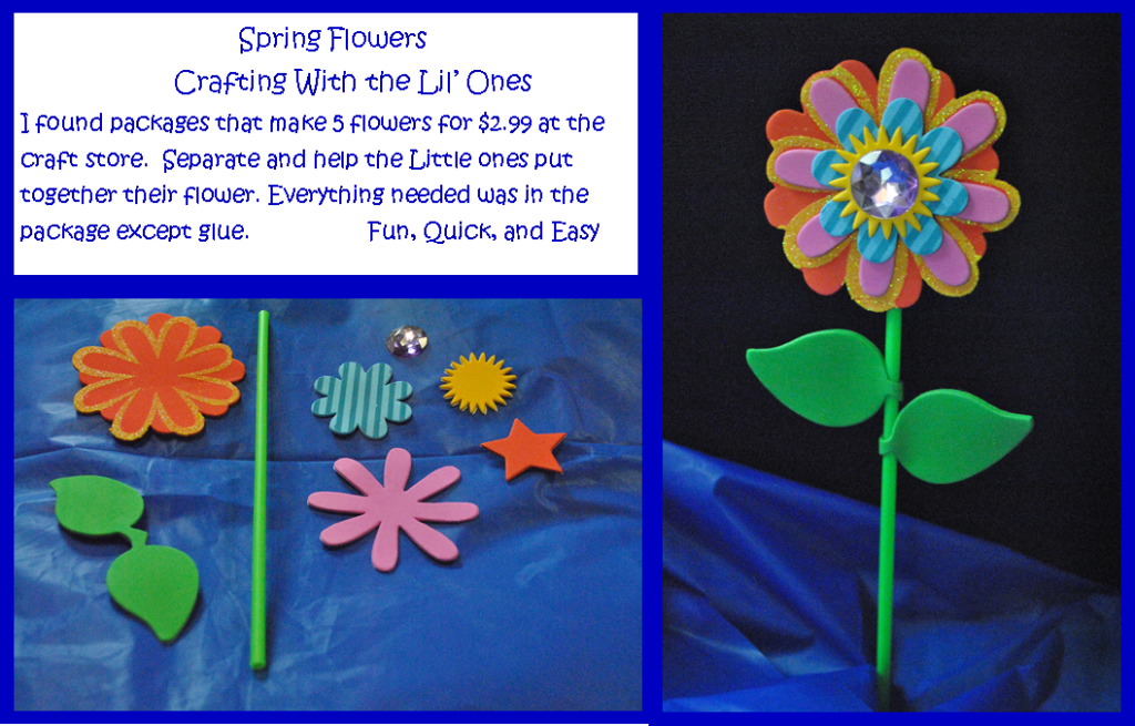 spring flower 2 completed with instructions for my place